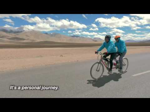 India's First Blind and Sighted Tandem Cycling Expedition to Himalayas by Adventures Beyond Barriers Foundation