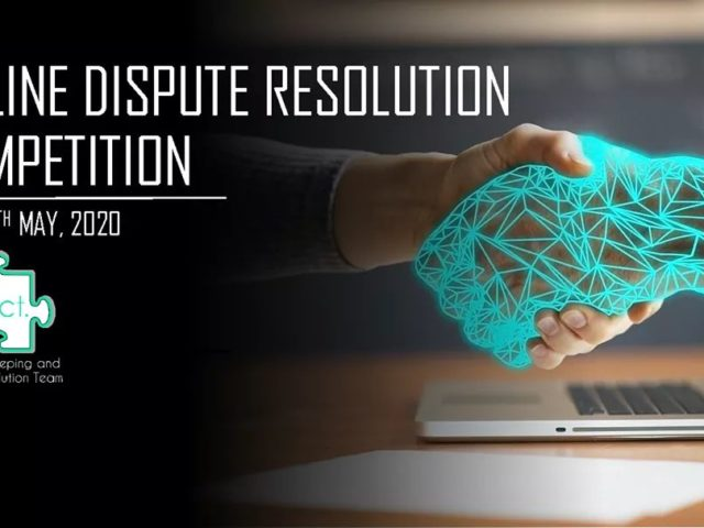 PACT announces it's first Online Dispute Resolution Competition | 8-11th May |
