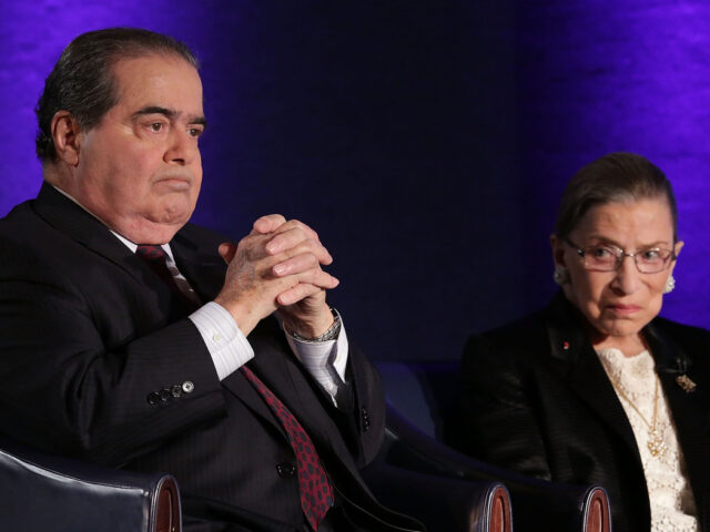 The Law is dead, Long live the Law: The curious friendship of Ginsburg and Scalia